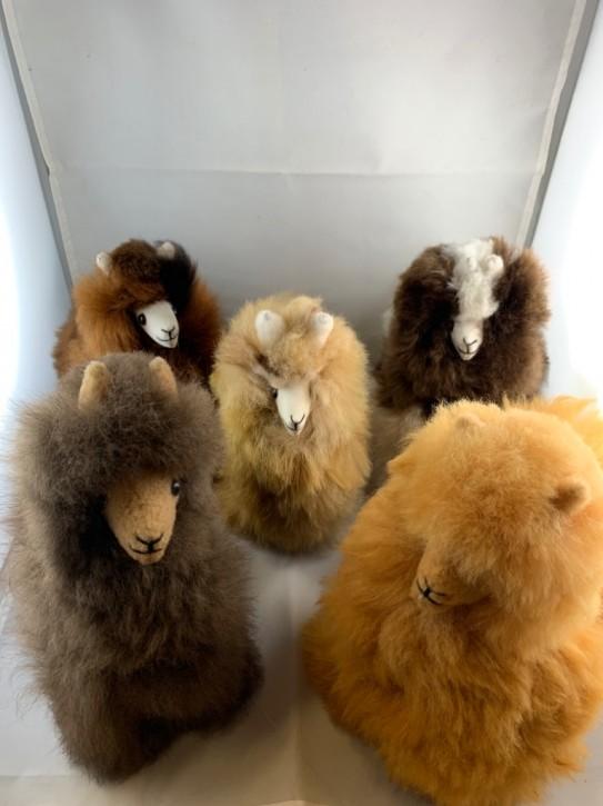 Kuscheltiere aus echtem Alpakafleece