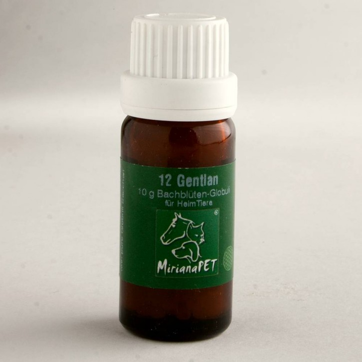 Miriana Pet Gentian Globuli No.12
