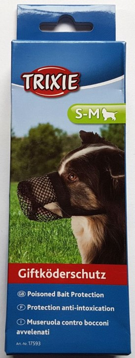 Giftköderschutz für Hunde von Trixie S - M