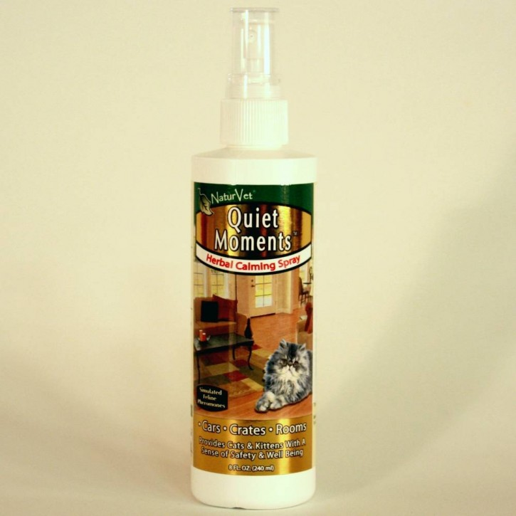 NaturVet Quiet Moments Calming Room Spray für Katzen