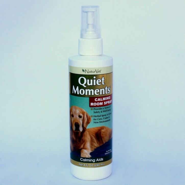NaturVet Quiet Moments Calming Room Spray für Hunde