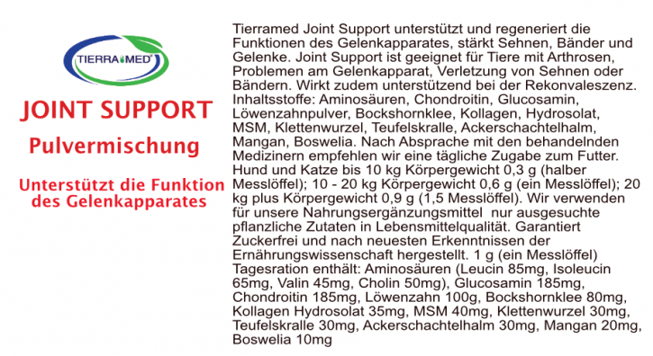 TIERRAMED Joint Support 50 g