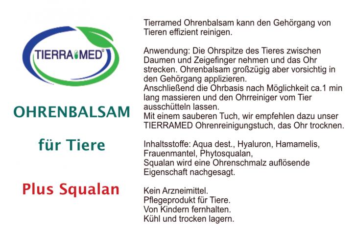 TIERRAMED Ohrenbalsam