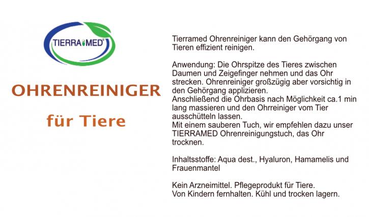 TIERRAMED Ohrenreiniger