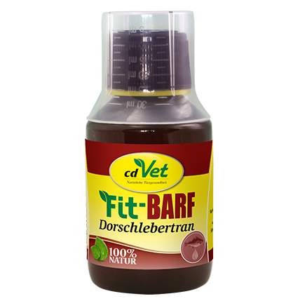 cdVet Fit-BARF Dorschlebertran (100 ml)