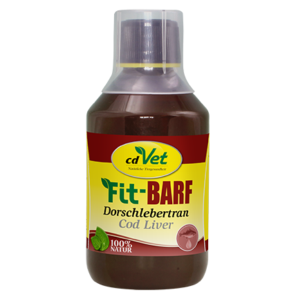 cdVet Fit-BARF Dorschlebertran (250 ml)