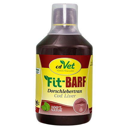 cdVet Fit-BARF Dorschlebertran (500 ml)