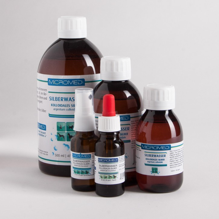 MICROMED Kolloidales Silberwasser + MSM