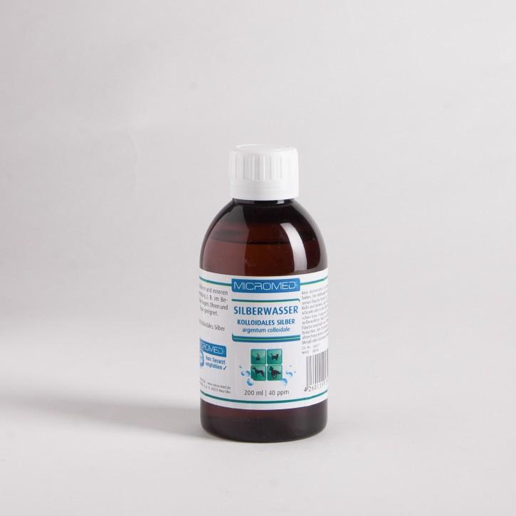 MICROMED Kolloidales Silberwasser (200 ml, 40 ppm)