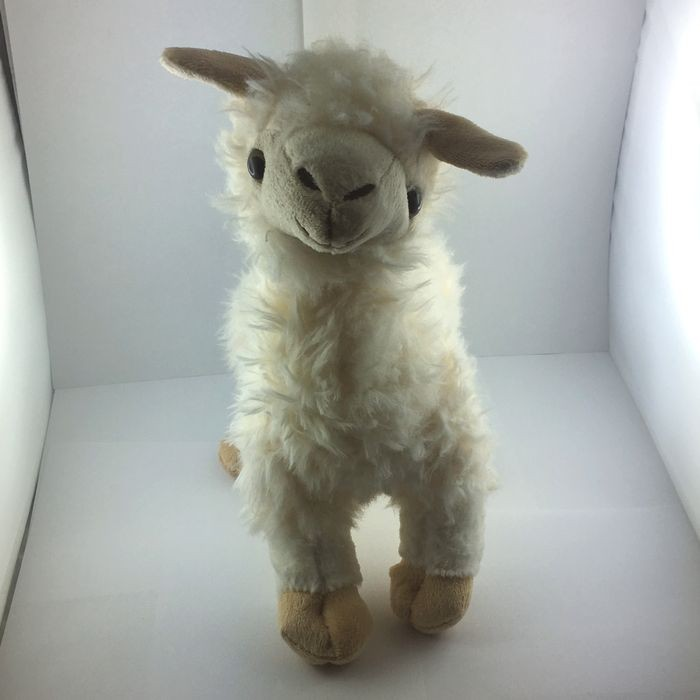 Alpaka/ Lama Spuzi 30 cm weiß