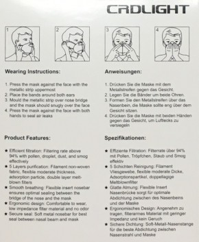 FFP2 Maske 5-lagig