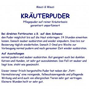 Mauzi & Wauzi Kräuterpflegepuder